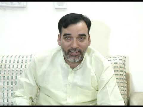 AAP Delhi Convenor Gopal Rai Briefs on CYSS & AISA Dharna Outside the DUSU Counting