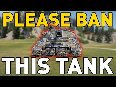 World of Tanks Please BAN This TANK!