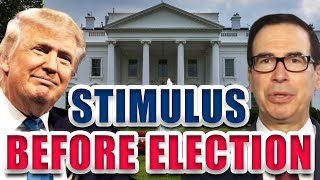 White House JUST SAID THIS About Stimulus BEFORE ELECTION