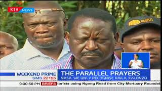 NASA: We only recognize Raila Odinga, Kalonzo Musyoka