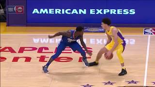 Lonzo Ball vs Patrick Beverley - Beverley mocks Lonzo, but gets revenge with crossover!