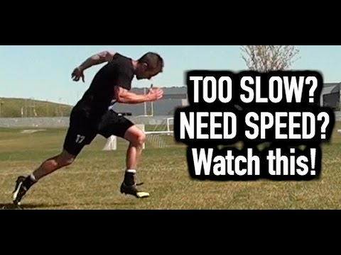 How to run faster | How to get faster at running | How to increase speed for soccer and football