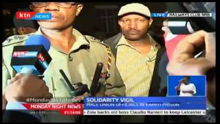 HAPPENING NOW: Solidarity Vigil for jailed KMPDU officials