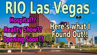 RIO LAS VEGAS STRIP REOPENING REPORT - WHAT'S REALLY GOING ON!! I FOUND OUT!!