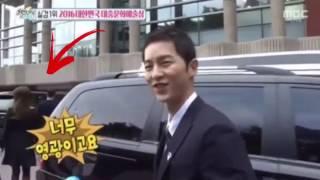 Song Joong Ki & Song Hye Kyo Leaving Together after Korea Popular Culture & Arts Awards