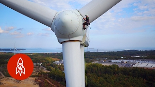 Climbing Wind Turbines for a Living | That