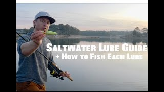 How to Fish Saltwater Lures - Inshore Fishing Tips