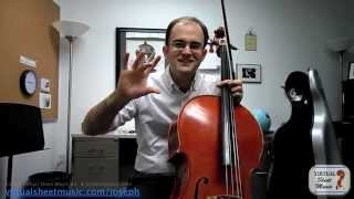 Cello Lesson - How to Play The Swan by Saint-Saens