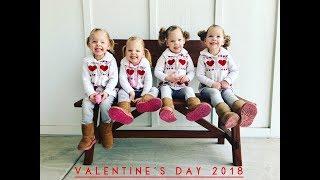 QUADRUPLETS VALENTINES DAY 2018