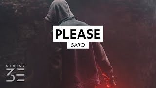 Saro   Please (Lyrics)