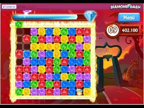 Diamond Dash Facebook (Highscore Tricks)