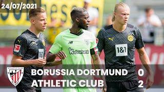 RESUMEN - LABURPENA | Borussia Dortmund 0-2 Athletic Club | Amistosos - Lagunartekoak 2021/22