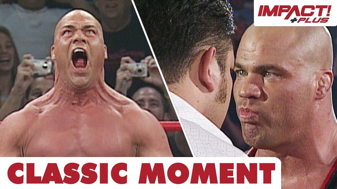 Kurt Angle On Why He Disliked Immediate Feud With Samoa Joe In TNA