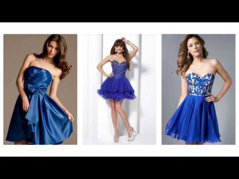 Cocktailkleid blau, schöne cocktailkleider, elegante kleider