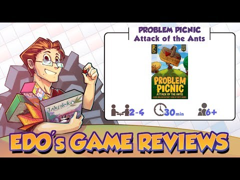 Edo's Problem Picnic: Attack of the Ants Game Review
