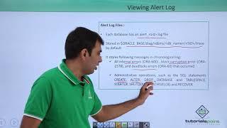 Oracle DB - Alert Log, Trace Files & ADR