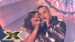Scarlett Lee sings Angels with Robbie Williams | Final | The X Factor UK 2018