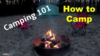 Camping 101 For Beginners | Useful Knowledge