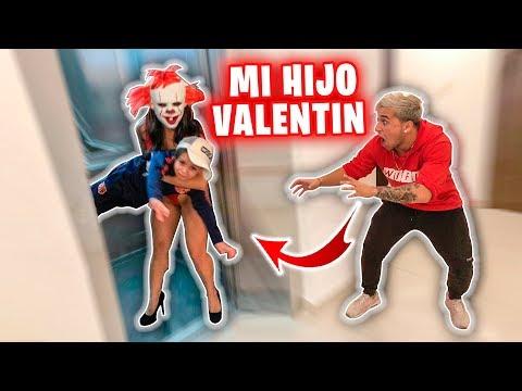 UNA PAYASA HERMOSA NOS ATACA Y SE LLEVA A NUESTRO HIJO VALENTIN !!!