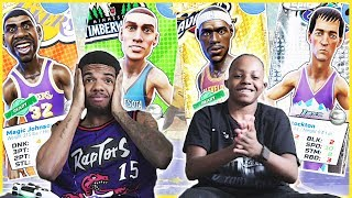 HE'S NOT PHASED BY THE PATCH! 3 AFTER 3! - NBA Playgrounds Gameplay