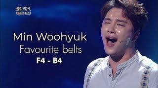 Min Woohyuk (민우혁) - My Favourite Belts