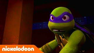 Las Tortugas Ninja | Pelea contra el robot | TMNT | Nickelodeon en Español