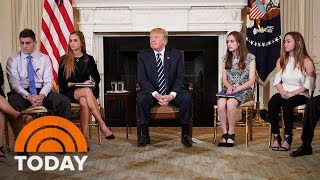 President Donald Trump Indicates He's Open To Stricter Gun Laws | TODAY