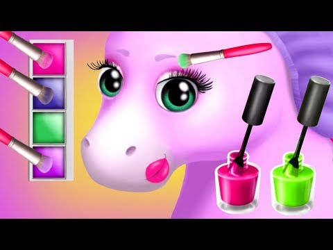 Pony Sisters Hair Salon 2 - Pet Horse Makeover Fun Kids Games by TutoTOONS
