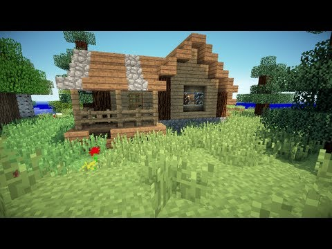 Small Rustic House Minecraft Project