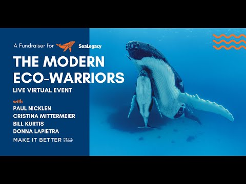 The Modern Eco-Warriors: A Fundraiser for SeaLegacy