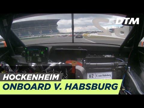 DTM Hockenheim 2019 - Ferdinand von Habsburg (Aston Martin Vantage DTM) - RE-LIVE Onboard (Race 2)