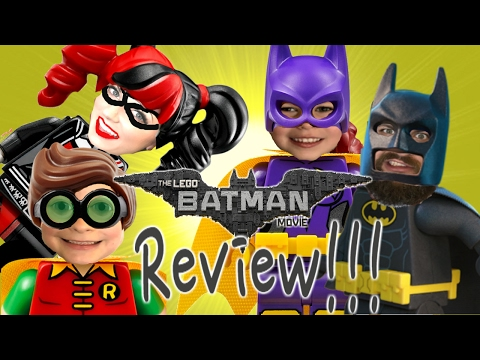 LEGO BATMAN MOVIE Review + Toy Hunt @ Toys R Us for Batman, Robin & Harley Quinn Toys
