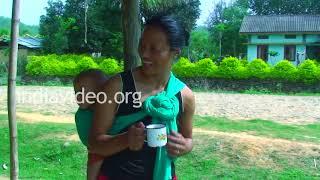 Naga Village life, Nagaland