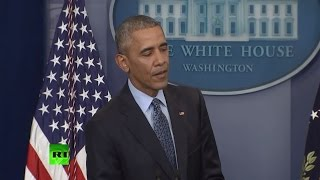 Obama holds final press conference of his presidency