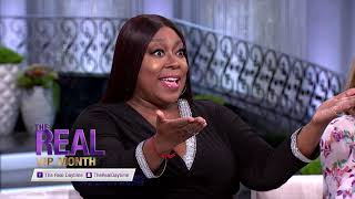 Wednesday on 'The Real' : Aisha Hinds and O'Shea Jackson Jr (14.05.2019)