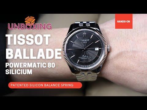 Tissot Ballade Powermatic 80 Silicium T1084081105800