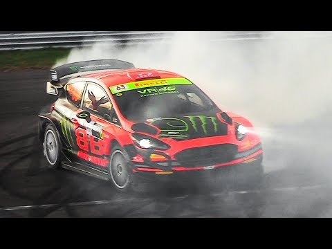 Monza Rally Show 2018: Best of Modern & Historic Rally Cars Sounds, Flames & Burnouts!
