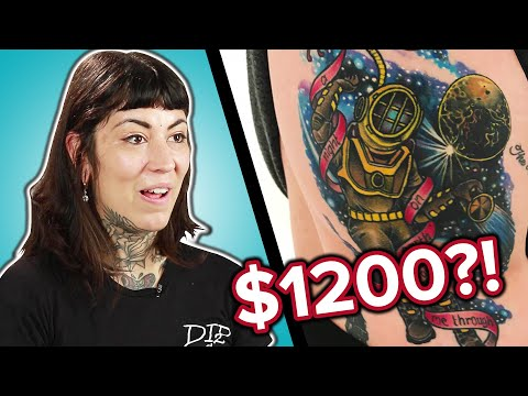 , title : 'Tattoo Artists Guess The Prices of Tattoos