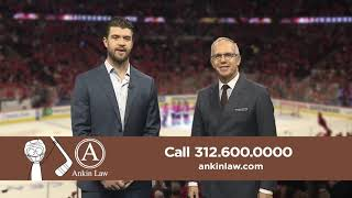 Brent Seabrook in Ankin Law Commercial