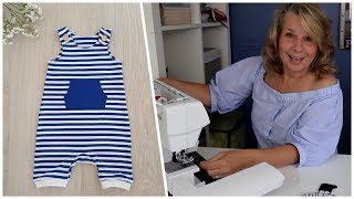 How To Sew A Baby Romper | Overall | Dungies
