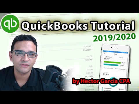 QuickBooks Online Tutorial: Getting Started 2019/2020 - YouTube