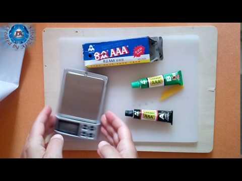 10g A+B Super Strong Epoxy Clear Glue with Spatula-Banggood.com