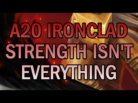 Even the Strongest among us can be fragile :( | Ascension 20 Ironclad Run | Slay the Spire