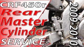 2009-2010 Honda CRF450r - Rear Master Cylinder Service | Fix Your Dirt Bike.com