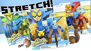 Stretch Armstrong and the Flex Fighters Netflix Hasbro Toys Exclusives