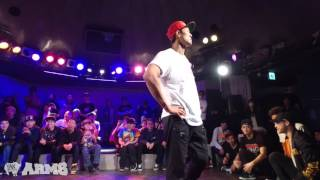 ET vs TWIGGZ Exhibition Battle ARMS vol.1 2015 | YAK BATTLES