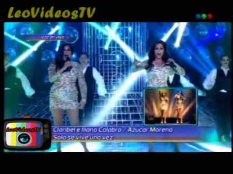 Claribel Medina e Iliana Calabro son Las Azucar Moreno en Tu cara me suena 3 #GH2015 #GranHermano