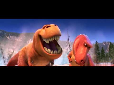 "The Good Dinosaur Movie Clip ""T-Rexes"" - Pixar Animation"