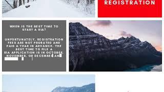 Quick Tip - RIA Registration