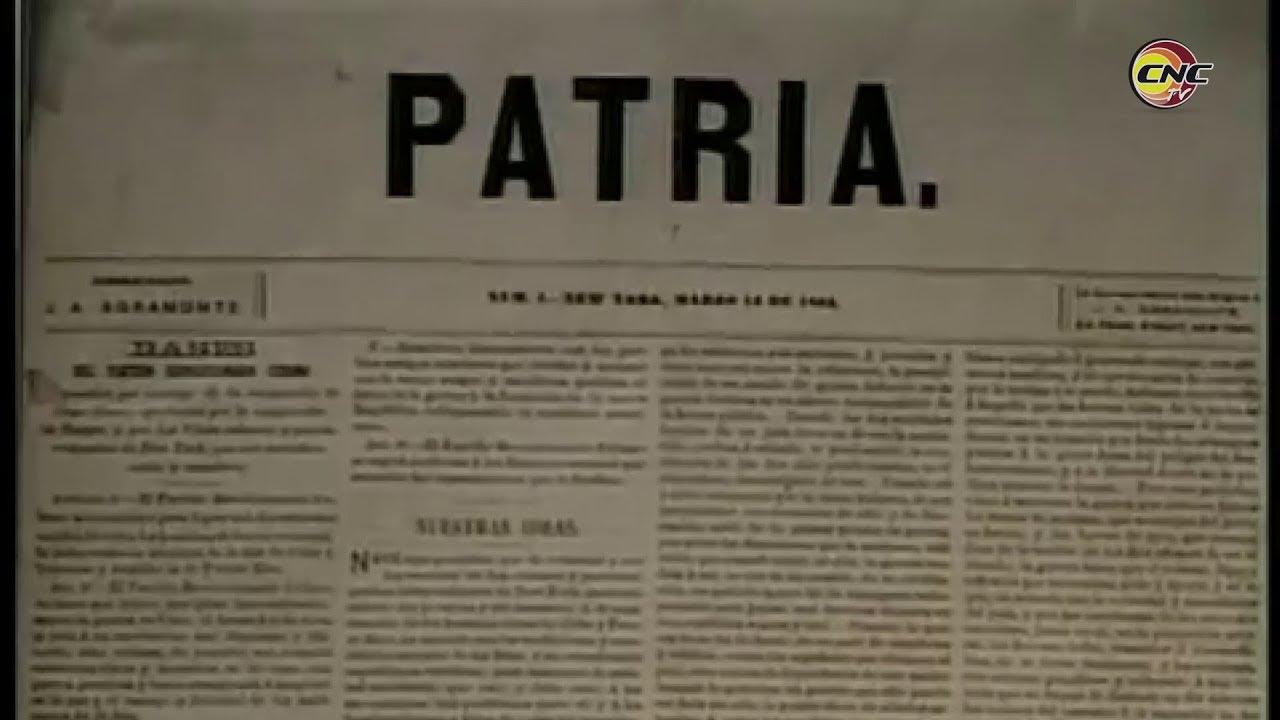 """Periódico Patria, vocero de """"la guerra necesaria y humanitaria"""""""